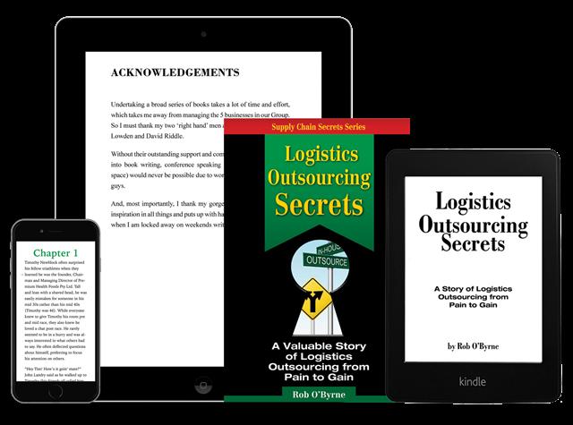 Logistics Outsourcing Secrets