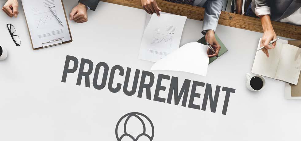 Supply chain training for procurement team