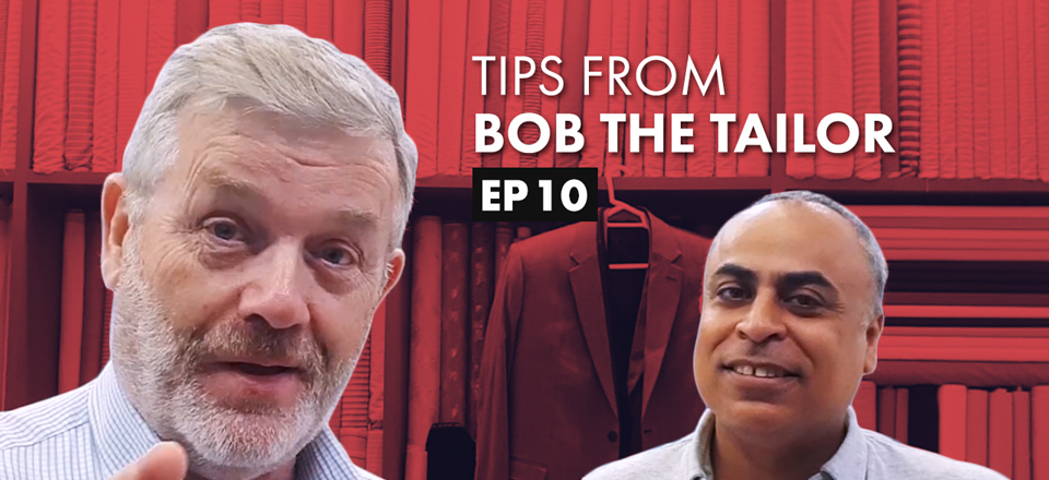 Customer Service Tips with Bob the Tailor