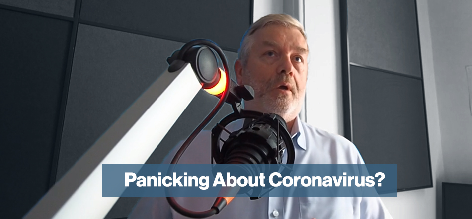 Panicking About Coronavirus? Listen To This Radio Interview
