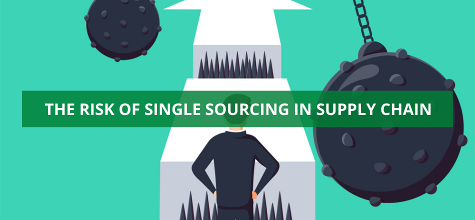 The Risk of Single Sourcing in Supply Chain