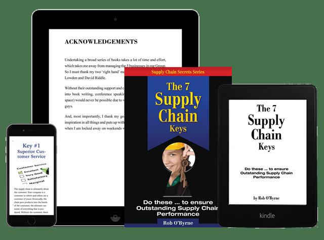 Supply Chain Management Keys